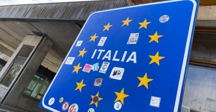 Ganz Italien Sperrzone